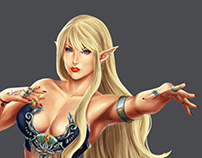 Character Desing - Female Elf