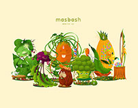 Masbash Veggie Monsters