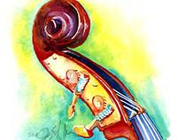 Bass Headstock
