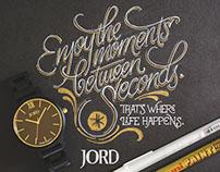 JORD Woodwatches. Enjoy