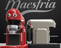 Nespresso Maestria - 3D Modeling