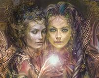 Sisters Fantasy Art