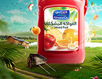 Almarai Mixed Fruits Juice