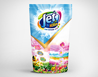 Packaging Development  |  Jet Klin Detergent