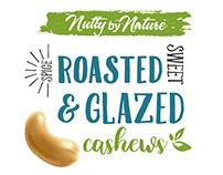 Roasted and Glazed Cashews - Nutty by Nature