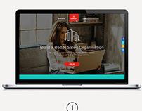 SMA - Consultancy Company Home Page Concept