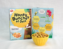 Honey Bunches of Oats Cereal Rebrand