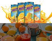 MIZ Drinks - Branding & Brochure