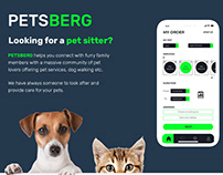 PETSBERG - To find pet-sitters near your area