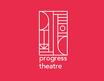 Progress Theatre branding