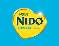 NIDO Low Fat Launch Campaign 2017