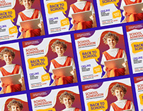 Free Back To School Banner Template