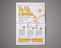 El vil metal español / infographics