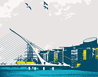 Dublin screenprint
