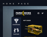 Farmskins.com - User Interface