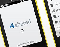 4shared for Nokia Asha
