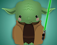 May The 4th Be With You: Yoda Vector
