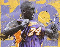 "Kobe Bryant ""5 Rings"" - Official Artwork"