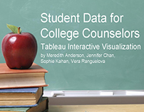 Tableau Interactive Visualization of Education Data