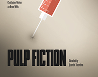 Pulp Fiction Minimalist Poster Design