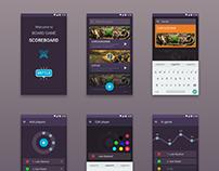 Board game score app