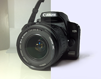Canon EOS 1000D Photo Retouch