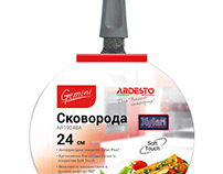Fry pan Gemiri Ardesto Packaging