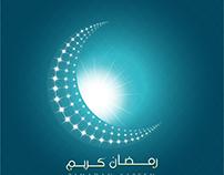 Vector Ramadan Kareem Crescent moon wallpaper