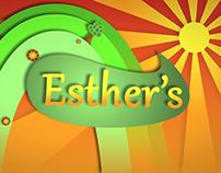 Esther's art in motion design