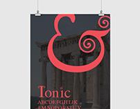 Ionic Typeface