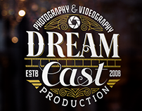 """DREAM CAST Production"" logo design"