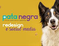 Redesign e Social media - Pata Negra