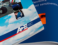 ACE branding and brochure