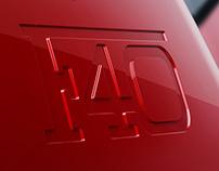 Ferrari F40 CGI