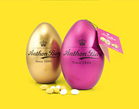 Anthon Berg - Easter Collection - Packaging Design