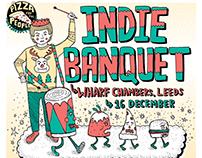 Gig Poster: Indie BanquetII - Leeds