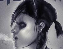 Lisbeth Salander, the girl with the Dragon Tattoo