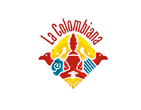 La Colombiana - Logo and Outdoor Stand