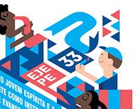 Ilustração - Cartaz EJEPE 33