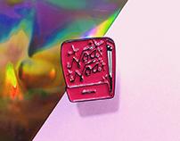 Noa Noa | Linocut - Enamel Pin