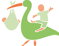 The Yoga Bird logo