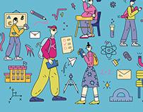 Illustrations App Store Korea