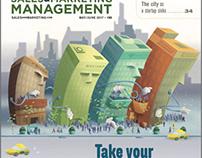 SM&M Magazine Cover Illustration