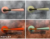 PopArt. door handles