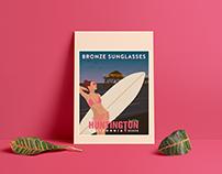 Bronze Sunglasses | Social Media