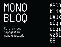 Monobloq / Espécimen