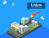 Lisbon Helicopters | Webdesign & Social Media