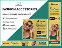 Fashion Accessories Sale - HTML5 Ad Template