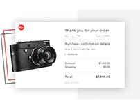 Purchase confirmation / Подтверждение оплаты