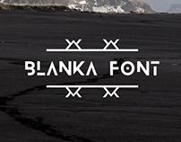 The FREE Blanka Font
